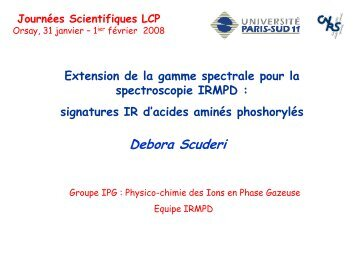 acides aminés phoshorylés - LCP
