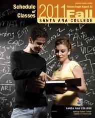 Fall 2011 - Santa Ana College