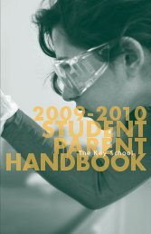 Student/Parent Handbook - Key School