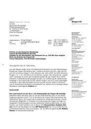 Unsere Petition an den Deutschen Bundestag - wengert-gruppe.de