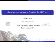 General-purpose Monte Carlo in the LHC era - Stefan Höche