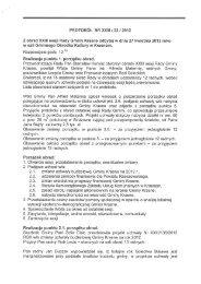 PROTOKÓŁ NR XXIII/23/2012 z obrad XXII sesji Rady Gminy ...