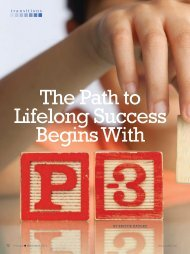 The Path to Lifelong Success Begins With - National Association of ...