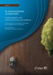 Rapport, 84 bladzijden (5,7 MB, 22 mei 2012) - Landbouw en Visserij