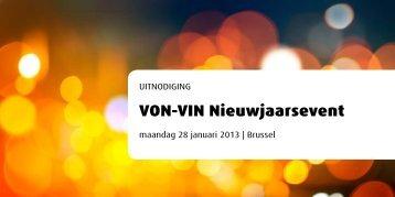 VON-VIN Nieuwjaarsevent - Vlaams ...