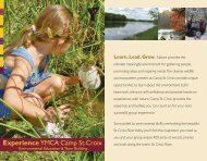 Outdoor Education Brochure - Ymca