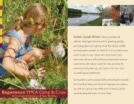 Outdoor Education Brochure - Ymca