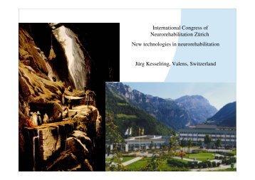International Congress of Neurorehabilitation Zürich New ...
