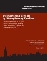 Strengthening Schools by Strengthening Families
