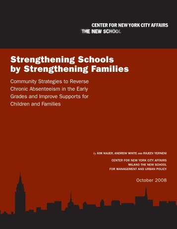Strengthening Schools by Strengthening Families