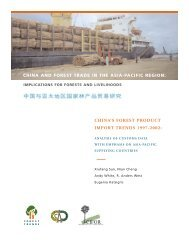 china's forest product import trends 1997-2002 - Illegal Logging Portal
