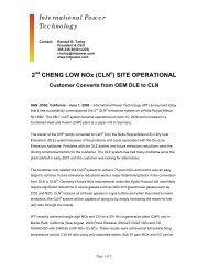 DK Press Release.pdf - International Power Technology