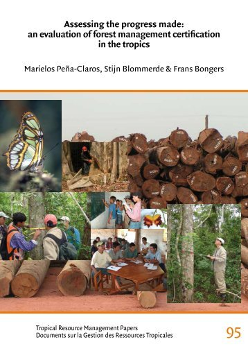 an evaluation of forest management certification in the tropics