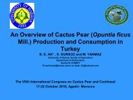 An Overview of Cactus Pear (Opuntia ficus Mill.) Production and ...