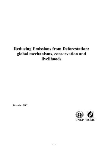 reducing deforestation This paper explores the potential of using public procurement policy to promote  the uptake of sustainable food products in order to reduce.