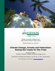Climate Change, Forests and Federalism - India Environment Portal