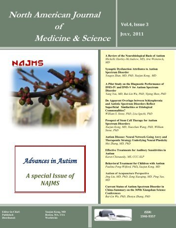 North American Journal of Medicine & Science - NAJMS: The North ...