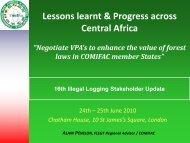 Diapositive 1 - Illegal Logging Portal