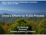 Forest law enforcement - Illegal Logging Portal