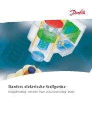 Danfoss elektrische Stellgeräte