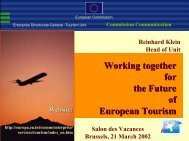 European Conference on Tourism and Employment