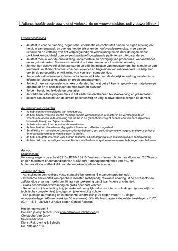 Administratief medewerker - Enzu