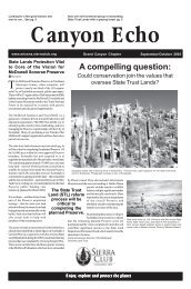 Sep/Oct 2003 (601 KB pdf) - Arizona Sierra Club