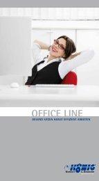 Prospekt Office Line - König Komfort- und Rennsitze GmbH