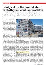 Erfolgsfaktor Kommunikation in strittigen ... - Basler & Hofmann