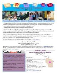 December Newsletter - Covering Kids & Families