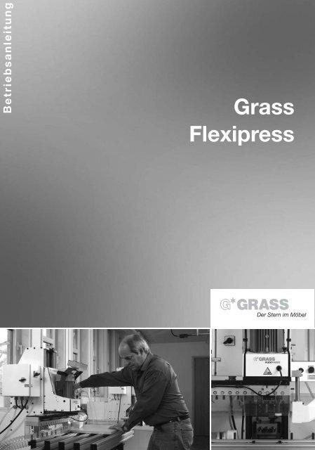 7. arbeiten mit der flexipress - Grass