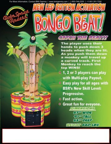 bongo-beat-v3-hammer.. - BMI Gaming