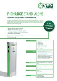 P-CHARGE STAND-ALONE - Schletter GmbH