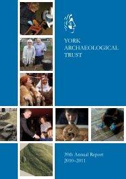 2010-11 - York Archaeological Trust