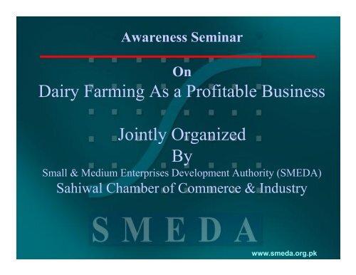 dairy farming business plan smeda