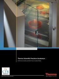Thermo Scientific Precision Incubators - CTR Scientific