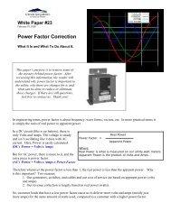Power Factor Correction