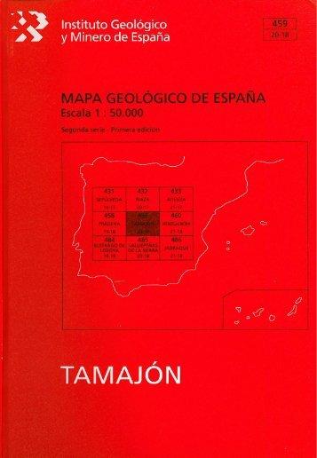 Tamajón. - Instituto Geológico y Minero de España