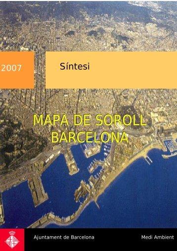 MAPA DE SOROLL BARCELONA