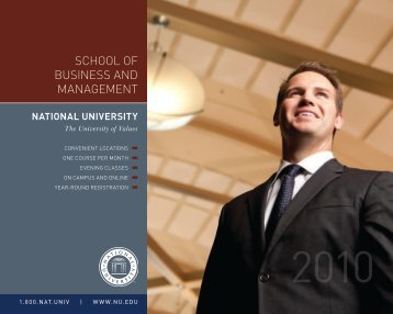 School of Business and Management - National University