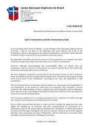 Brazil - Anglican Communion