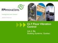 CLT - Floor Vibration Control