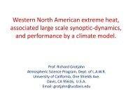 Grotjahn, 2012 - Atmospheric Science Program, UC Davis