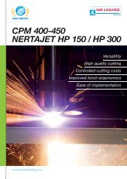 cpm 400/450 - Air Liquide Welding