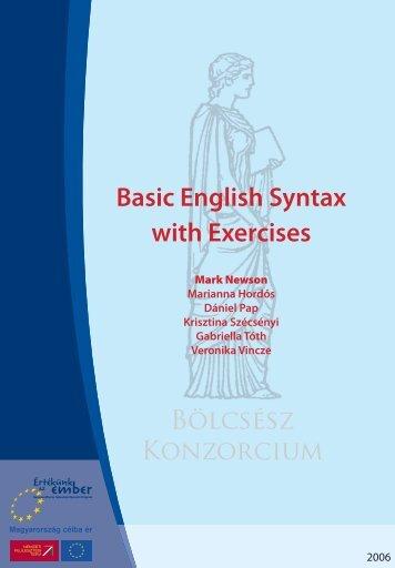 Basic English Grammar with Exercises