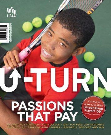 Summer 2009 U-TURN Magazine - USAA