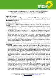 Nordrhein-westfälischen Gutachtens mit Risikostudie ... - Wibke Brems