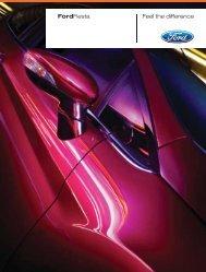Ford Fiesta Broschüre