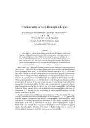 On Similarity in Fuzzy Description Logics - IIIA - CSIC