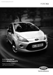 Ford Ka Preisliste